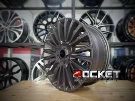 Velg mobil racing murah ring 17 HSR WEB pcd 8x100/114,3