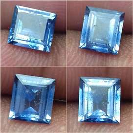 Natural Blue Sapphire No Heat Emerald Cut 1.46ct