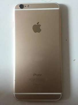 Iphone 6pluuss warna gold internal 64GB minus fingerprint y