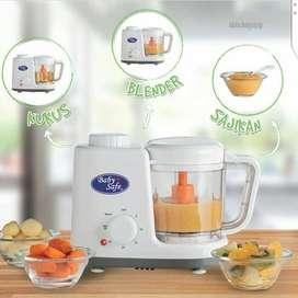 Baby Safe Food Maker/mesin makanan /Steamer blender makanan bayi LB003