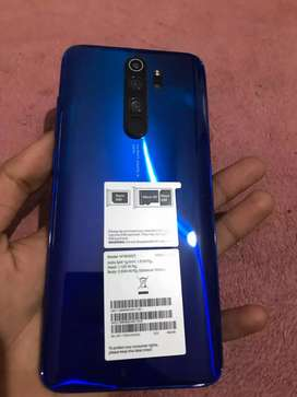 Redmi Note 8 Pro 6+64GB 1 month old good condition