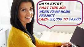 HOME BASED DATA ENTRY JOB