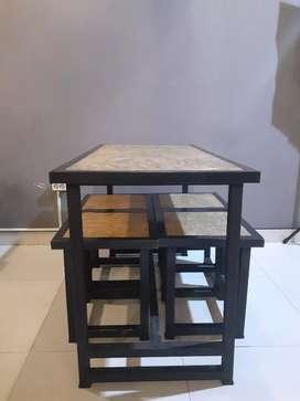 Meja Kursi bekas Resto