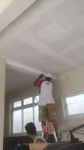 Tukang cat baru atau service