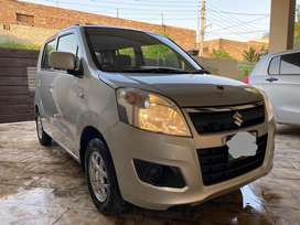 Wagon R VXL 2018 with new Tyres in a very good condition for sale