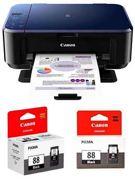Canon E510 All-in-One Inkjet Colour Printer with PG88 & CL98 Ink Cartr