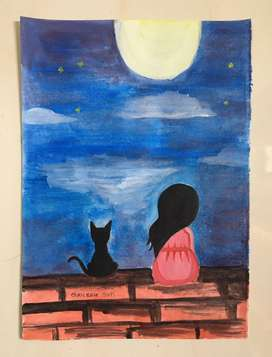 Art work - Water color painting
