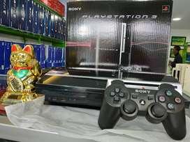 PS3 FAT 250GB BONUS FULLGAMES FULLSET PAKET 2STIK