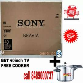 +NEW SONY 40INCH 4K ANDROID NEW  OFFER 50%