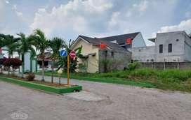 Dijual Tanah hook di Sukarame Bandar Lampung, dalam kompleks Perumahan