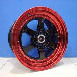 velg modifikasi HSR ring15x7/8 hole8x100-114,3 et35/30 RUMOI Surakarta
