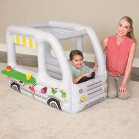 Bestway Scoops And Smiles Ice Cream Truck Ball Pit