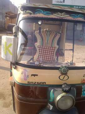 Cng sazgar raksha good condition 2014 model