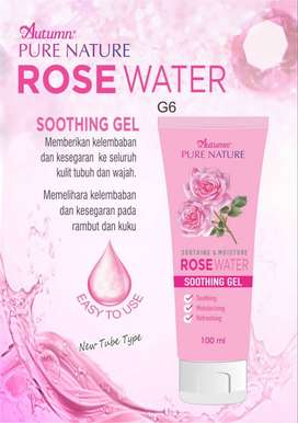 Autumn Rose Water Soothing Gel Tube 100ml