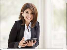 URGENTLY WANTED LADIES RECEPTIONIST
