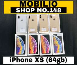 Apple iphone XS (64gb) brand new condition (silver and gold)