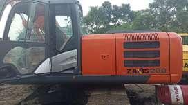 Excavator Hitachi zaxis 200 tahun 2013