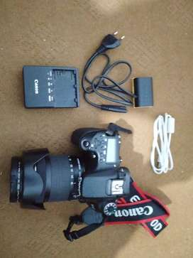 Canon 70D with accessories