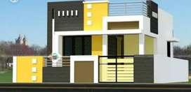 100 to 150sq yards house starting 32 lakhs@MINIBYPASS,KARAMCHARI NAGAR