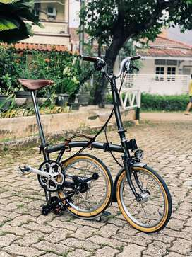 Brompton Raw Lacquer M6LD