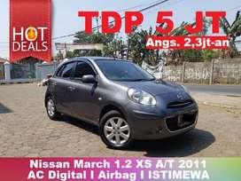 [TERMURAH] Nissan March 1.2 XS A/T 2011 Type Tertinggi Low KM ISTIMEWA