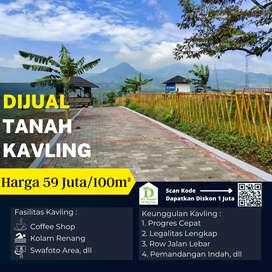 Jual kavling serbaguna siap bangun, sangat cocok untuk villa di Bogor