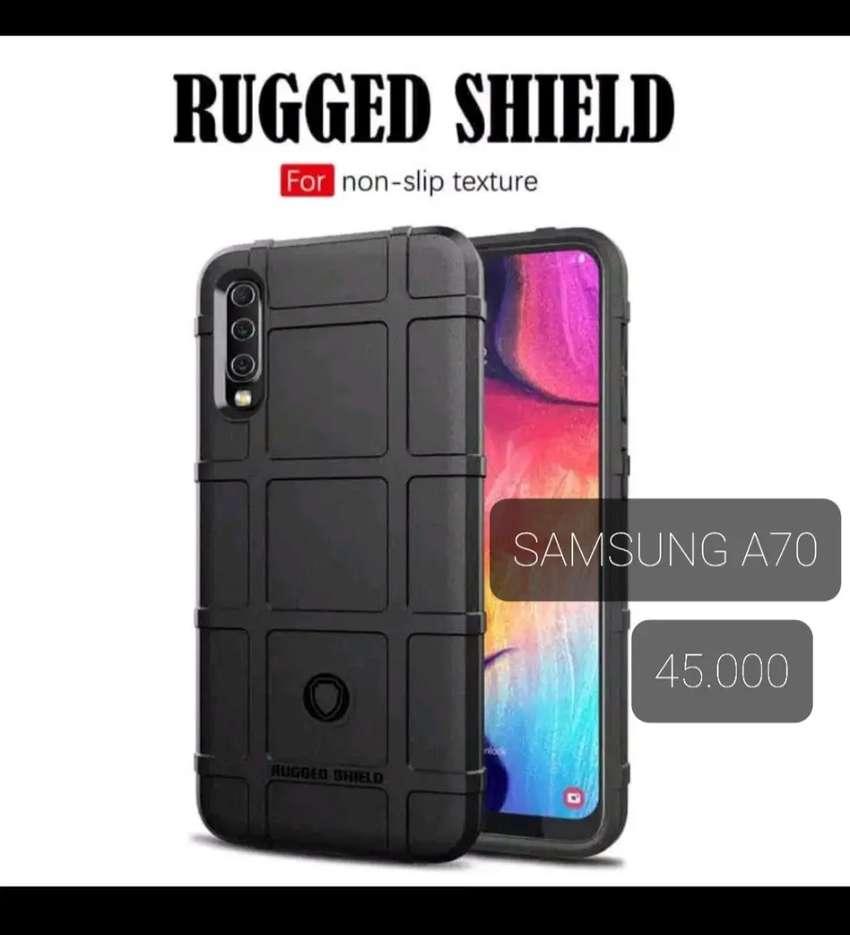 Samsung A70 casing RUGGED SHIELD