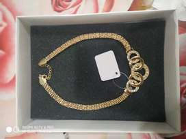 Beautiful Necklace bracelet and earrings and ring