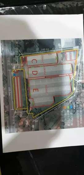 Jual Cepat Pabrik Karawang Timur 2 Hektar