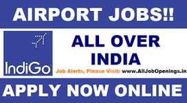Urgent candidates ground staff and Air Ticketing  in Varanasi Airport