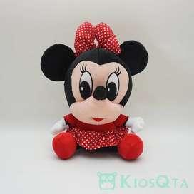 boneka baby minnie mouse kepala besar large