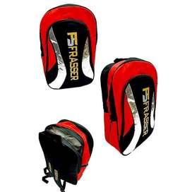 tas raket badminton ransel frasser 779 thermoguard merah