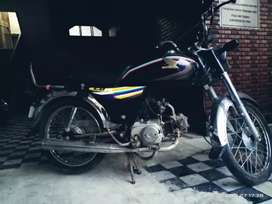 Honda CD70cc black colour
