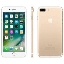 Iphone 7 plus 256 gb - Gold color