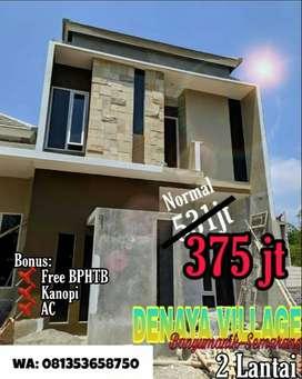 Rumah Murah 2 Lantai di Banyumanik