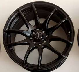 Velg wokn Matt black ring 17 murah Avanza Livina Sigra calya freed