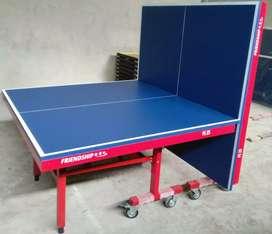 Tennis meja pingpong lipatan siap cod bayar dirumah