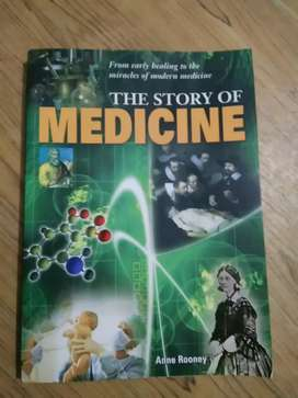 The Story Of Medicine book by Anne Rooney, photographic pages
