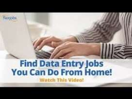 Data entry work at home base job join now