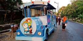 pabrik odong odong kereta mini wisata AR mainan pancingan elektrik