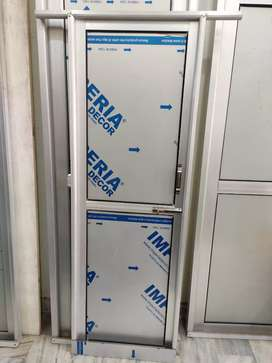 Aluminium doors and pvc doors lgwane ke liye contact kre