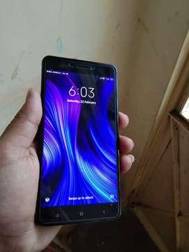 Redmi Note 4 mobile good  condition .