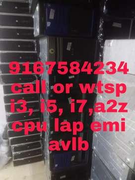 A2z cpu led monitor lap wholes pr *i3/i5/i7/c2d avlb call or wtsp