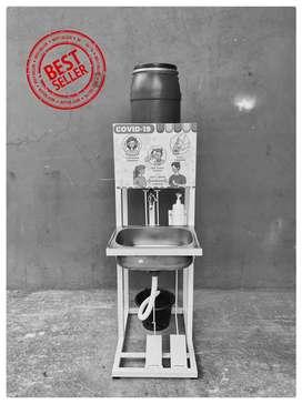 Wastafel Injak washtafel portable Toren 20 Liter
