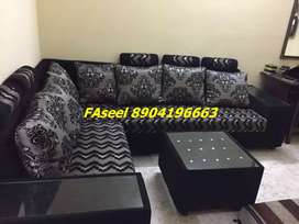 MP85 corner sofa set branded color with 3 years warranty