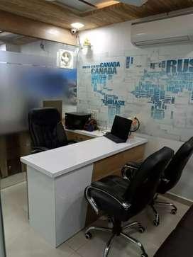 Office on rent Lavishly furnished at msin Ashram Road