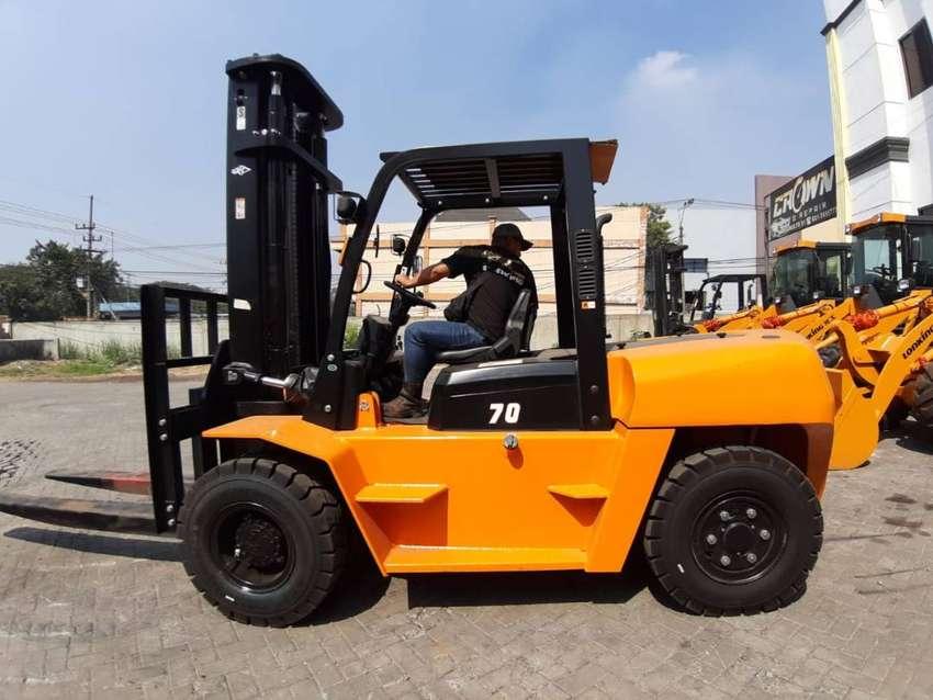 Forklift di Balangan Murah 3-10 ton Mesin Isuzu Mitsubishi 0