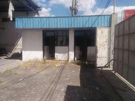 Dijual gudang lahan luas lokasi tepi jalan utama Tegalyoso, Klaten