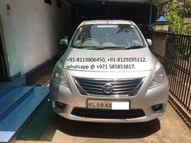 Nissan sunny XV diesel 2012 for sale in Guruvayur.(RS-3,90,000/-).
