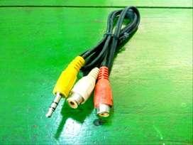 Mobile RCA Cable Stereo Audio Home Theater Component HDMI 3.5 FM Radio